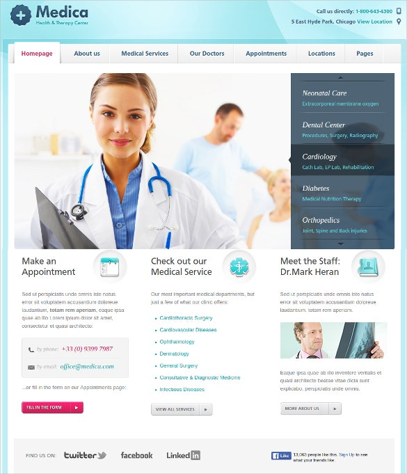 medical dental wordpress website theme 55