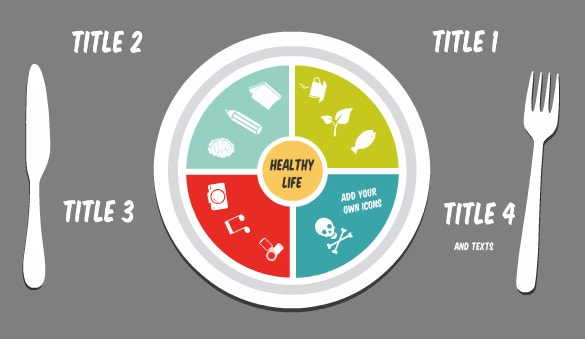 healthy life prezi template download