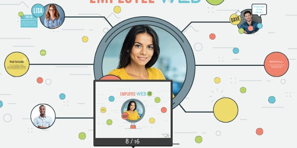 employee web prezi template download