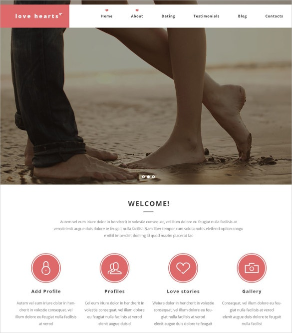 love hearts dating wordpress website theme 75