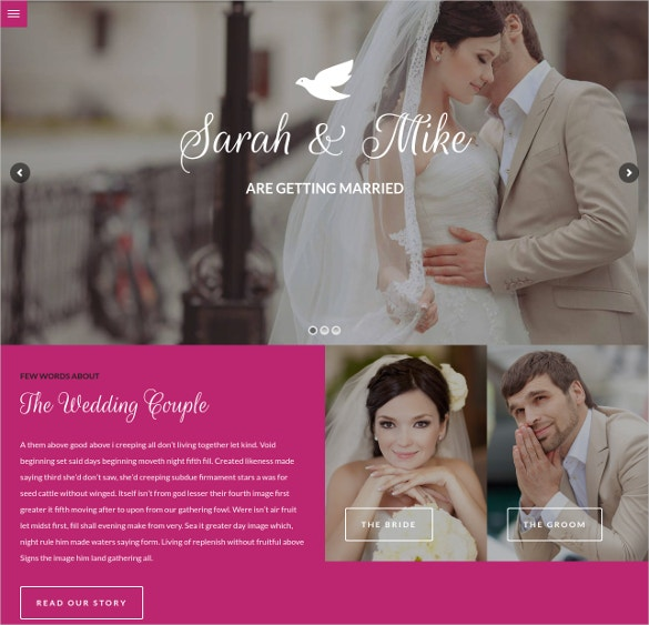 Dating website template wordpress
