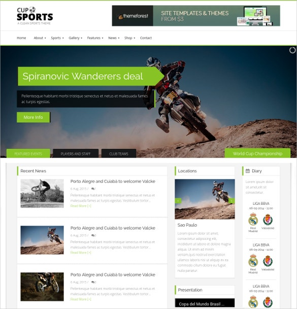 bootstrap sporting team wordpress website theme 59
