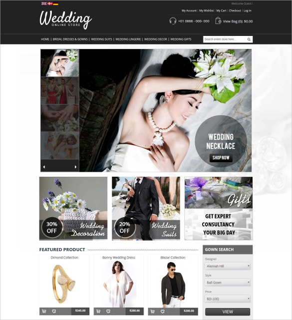 Magento website templates free download comppes for Magento homepage template