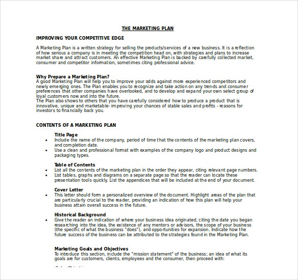 Marketing Plan Final Marketing Plan Peccadillous - Small business marketing plan template
