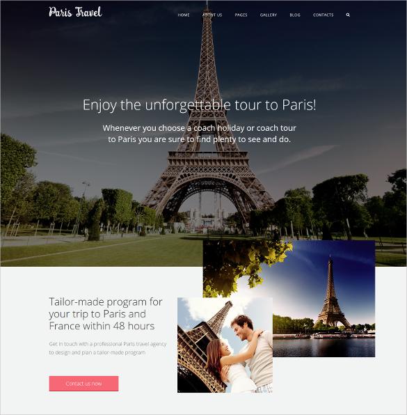 travel joomla website template 75