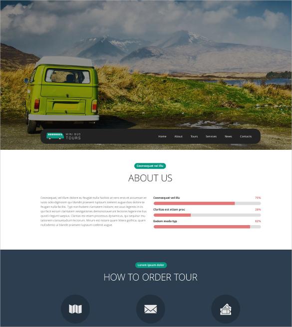 premium travel website template 69