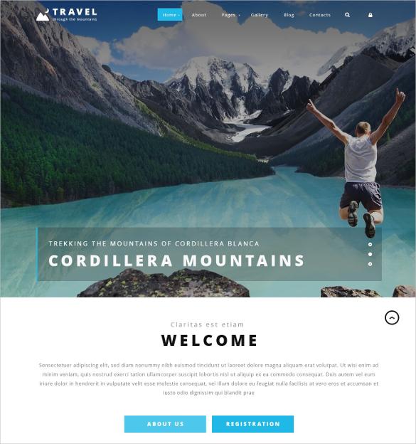 travel agency joomla website template 75