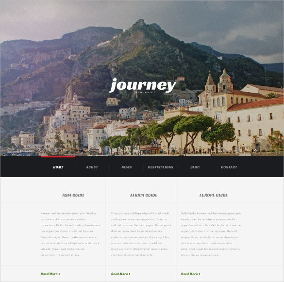travel agency responsive wordpress website theme 75