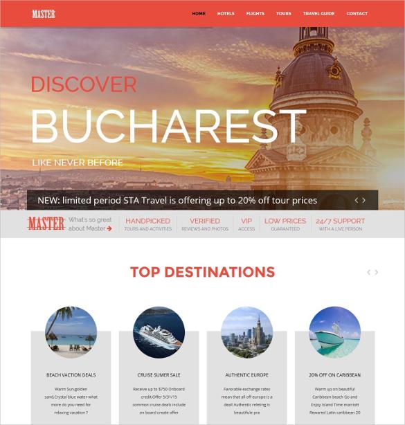 travel theme for joomla website 48