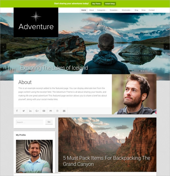 wordpress blog adventure travel website theme 69