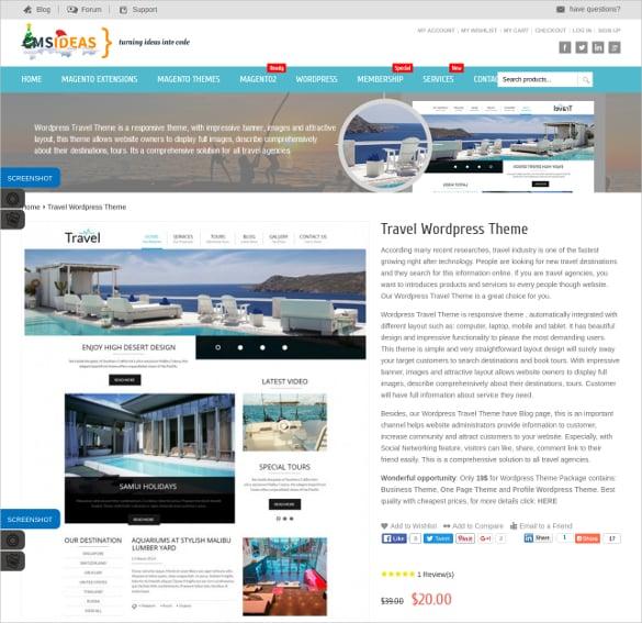 travel responsive wordpress website theme 25