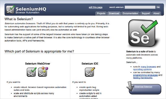 selenium functional testing tool