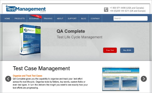 qa complete test management tool