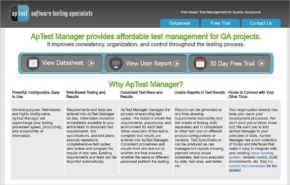aptest manager software tool