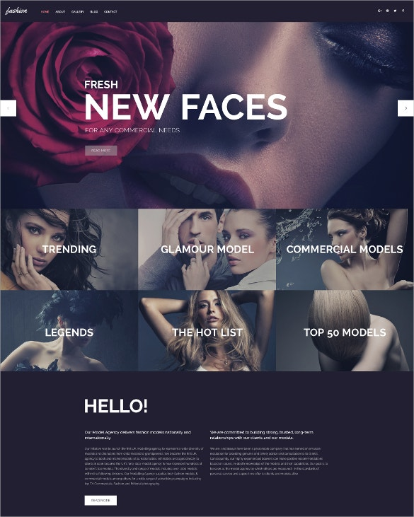 fashion spot wordpress black blog theme