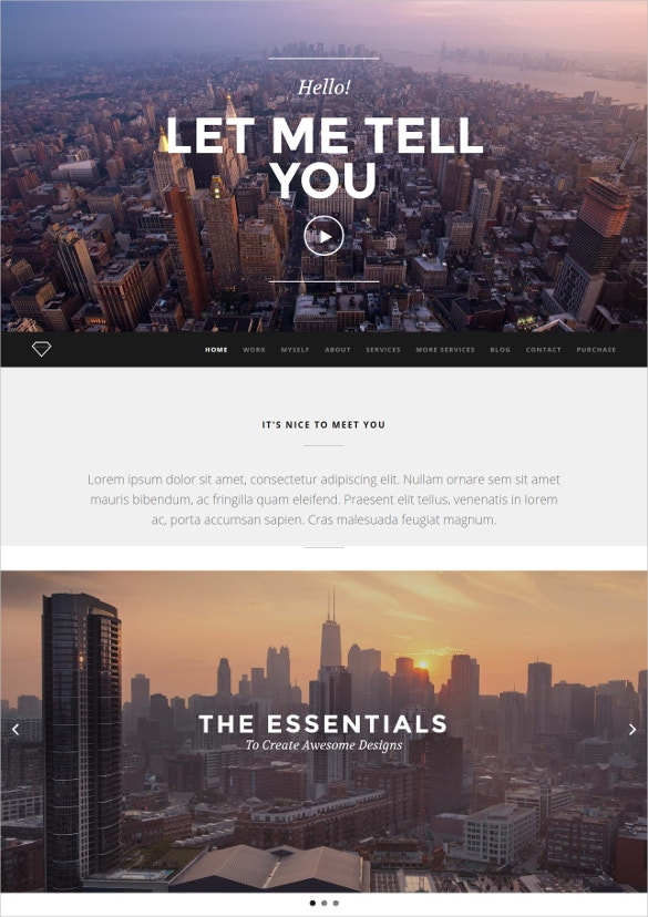 creative video portfolio drupal theme
