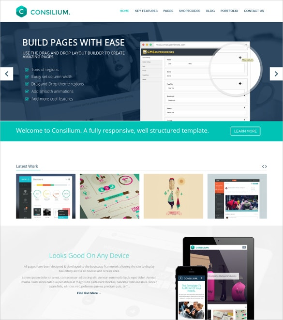 multipurpose creative video drupal theme