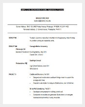 civil engineer planning resume word free editable download