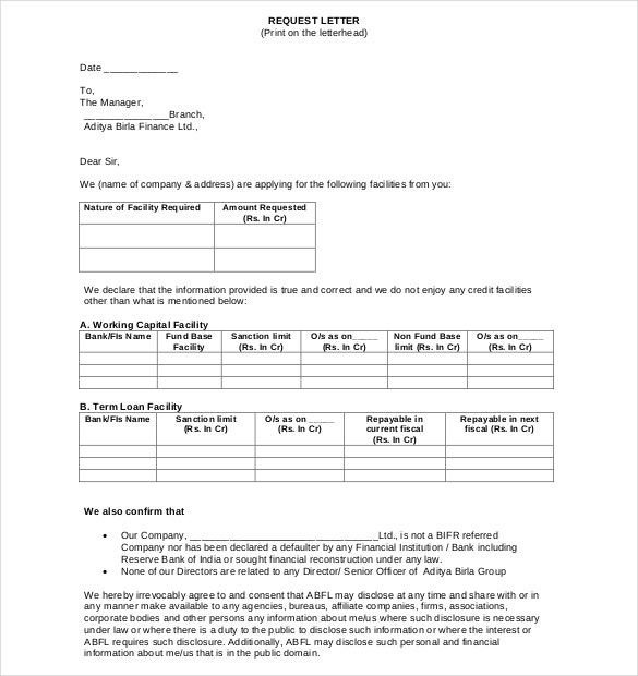 Loan Application Templates