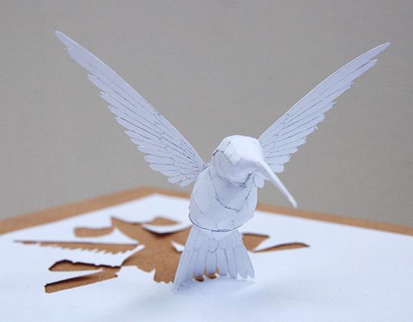 Eagle Paper Art Design