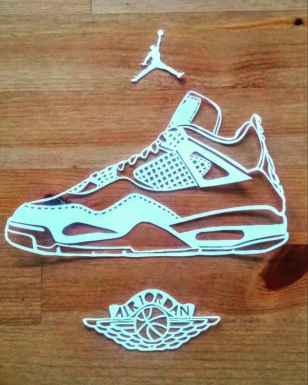 sports-shoe-paper-art-design