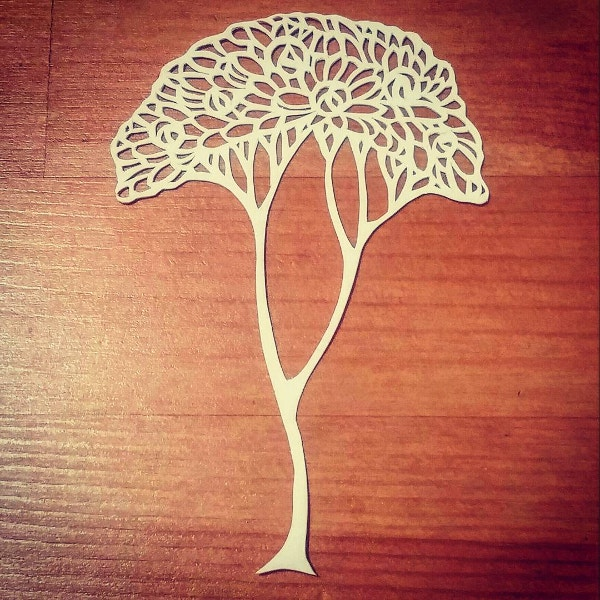 Tree Paper Art Design