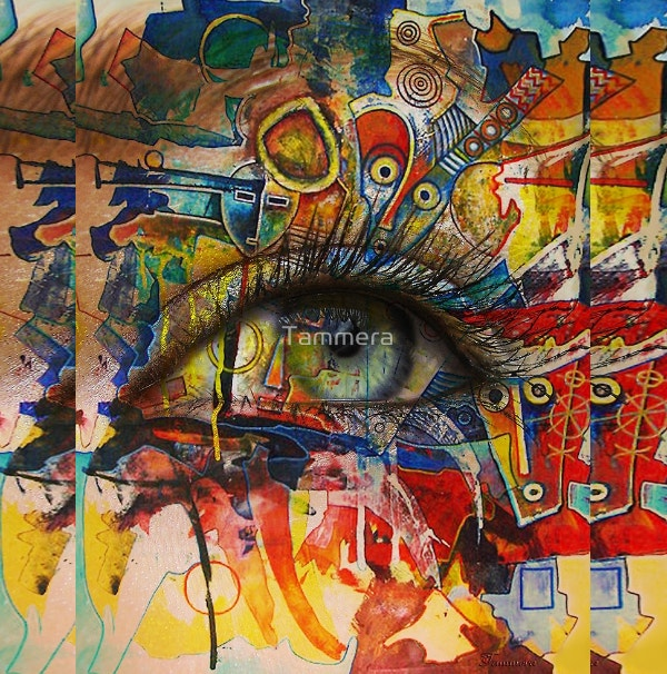 Perception Graffiti Art by Tammera