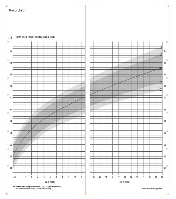 Baby Growth Charts Basic Templates Free PDF Download