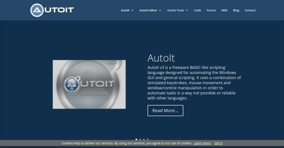 AutoIt Script Editor Open Source Tool