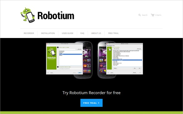 Robotium Open Source Testing Android Application