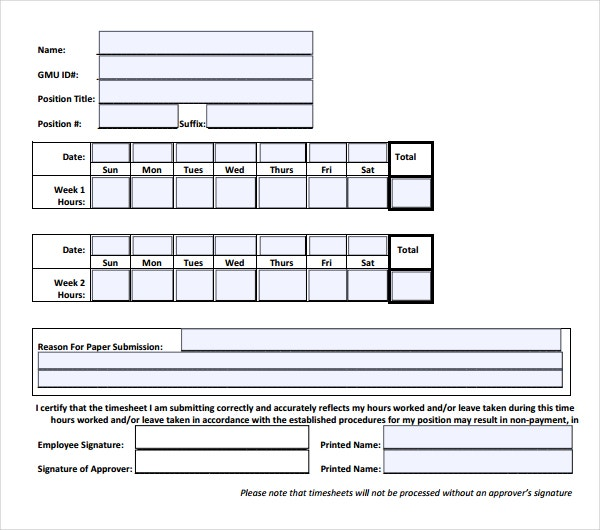 free downloadable hr timesheet template in pdf