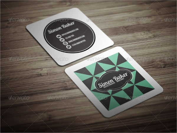 Micro Business Card Template