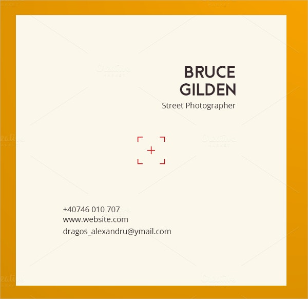 PhotoSnap Business Card