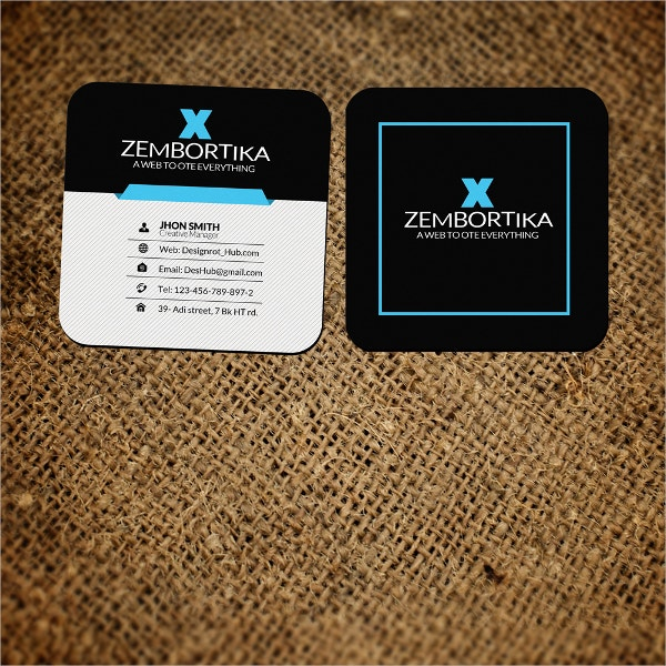 customize business card
