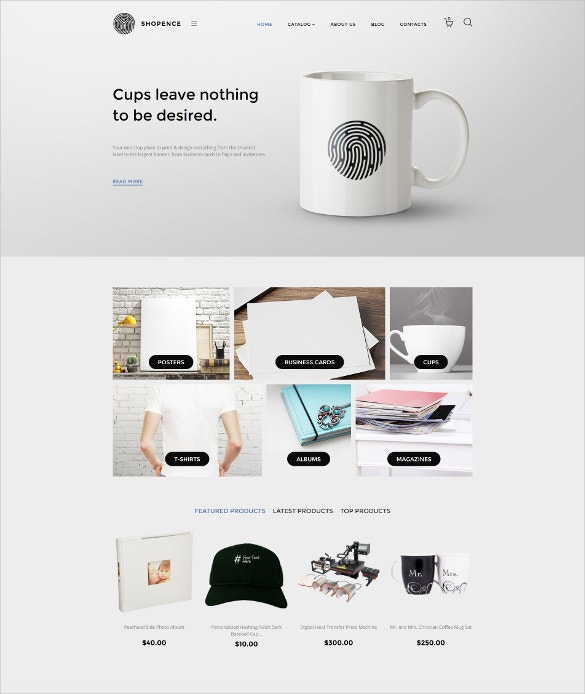 shopence virtuemart html5 template