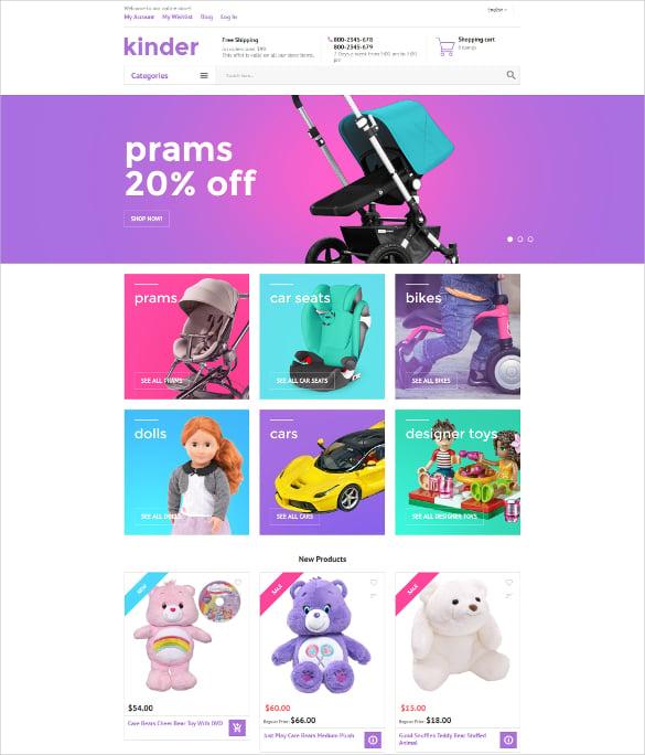 Kinder Magento HTML5 Theme