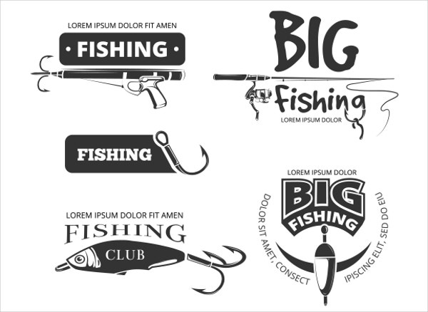 Fishing Club Vector Logo
