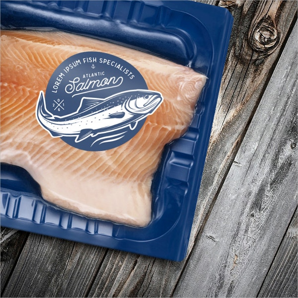 Vintage Salmon Logos & Emblems