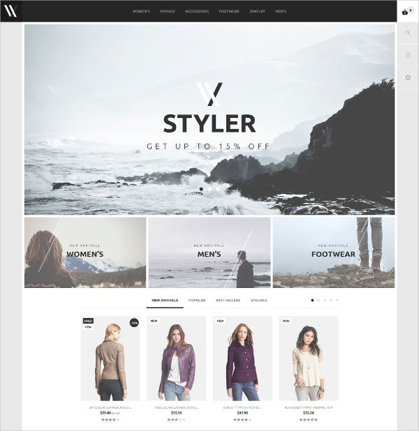 Ecommerce Fashion PrestaShop Theme