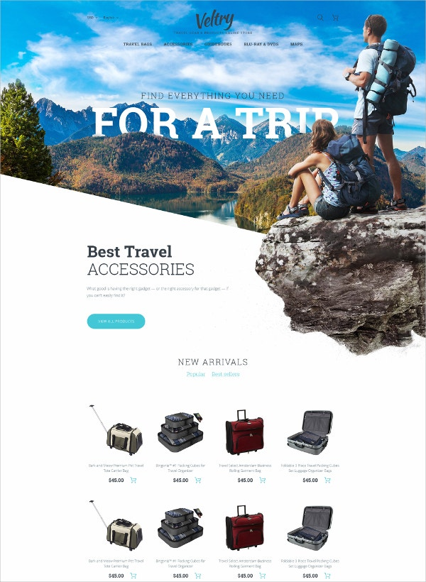Travel Store PrestaShop Blog Theme
