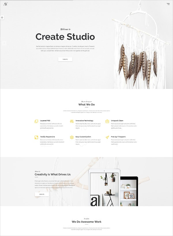Creative Multipurpose HTML Blog Theme