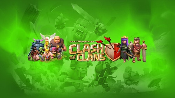 clash of clans youtube banner template download