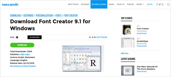 Top 12 Font Editors To Give A New Life To Your Web Pages Free Premium Templates