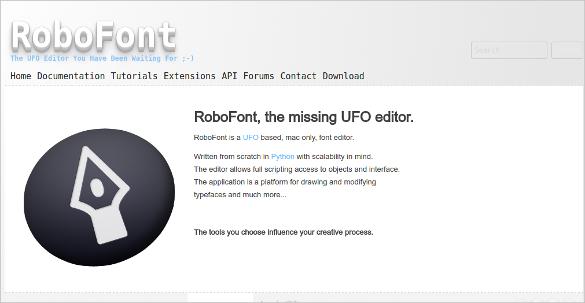 robofonts