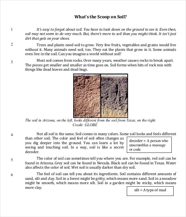 Ela Common Core Practice Sheet PDF Format Download
