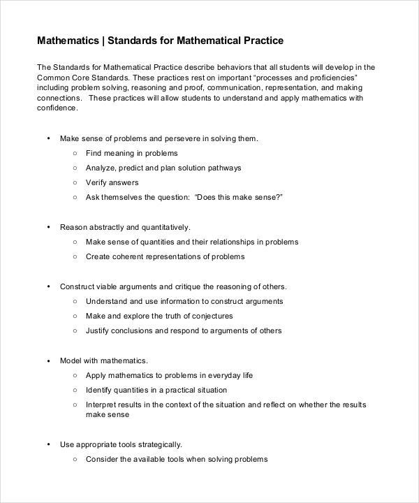Common Core PDF Format Download