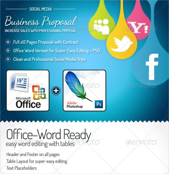 Proposal Templates  Free Ms Word Documents Download  Free