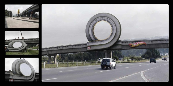 Hot Wheels: Curl Bill Board Ad