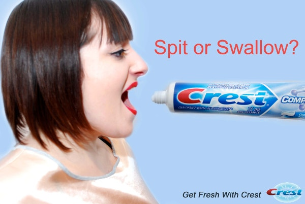 Crest Toothpaste Funny Billboards Ad