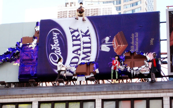 Best Dairy Milk Chocolate Billboards Ad